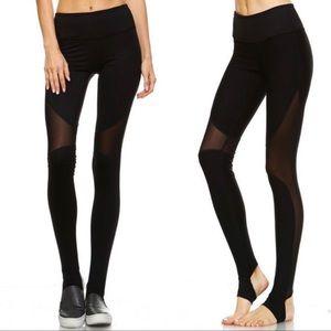 Mono B Pants & Jumpsuits - Mono B  Slanted Mesh Stirrups